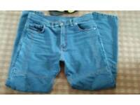 Size 38 waist 32 leg Motorcycle Jeans