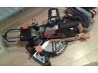 **EVOLUTION RAGE 3-S**MITRE SAW**240V**210mm**HARDLY USED**WORKS PERFECTLY*COMES WITH ORIGINAL BLADE