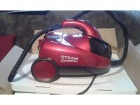 Eubank steam cleaner only used twice. Still in its box reason for selling collecting dust