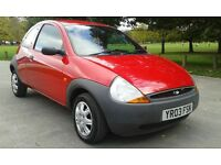 2003 very low mileage ford ka 12 months mot