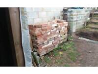 Old hand made bricks