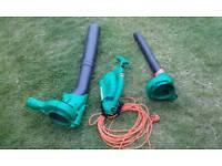 B&D leaf blower and vacuum