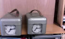 Pigeon clocks