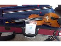 Stentor Student II violin 1/2 size in excellent condition