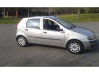 2002 punto genuine 50000 miles from new £599