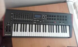 Novation Impulse49 USB keyboard £80 ONO