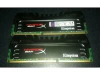 Kingston HyperX Beast DDR3 (2 x 4gb)