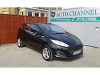 Ford Fiesta 1.0 EcoBoost Zetec Powershift 5dr£6,995 p/x welcome 1 YEAR FREE WARRANTY. NEW MOT