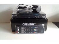 Openbox V8S HD 1080p Newest Model 600 MHZ Satellite Receiver Box -PVR -Web TV - upgrade of f5s v5s