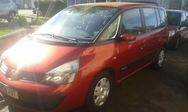 7 seater Renault Espace in excellent condition full years MOT with no advisories like grand scenic