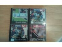 Various PS1, PS2 ,Xbox 360,pc games and game guides