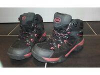 Girls Mountain Warehouse Walking Boots (like new)