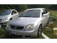 2003 Vauxhall Vectra C 1.8 Club 5dr silver manual z 157 2au BREAKING FOR SPARES