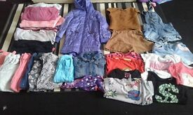 Larg bundle of girls clothes, 7-8-9 years ,29 iteams