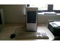 Intel Celeron PC Desktop Computer 633MHz PC Tower Case