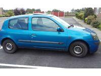 Renault clio 1.2- repair or spares