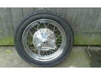 "spoked wheel16"""