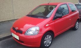 Toyota Yaris 2003 Automatic, low Milage, Parking Sensors, 12 Months Mot, Lovely Drive