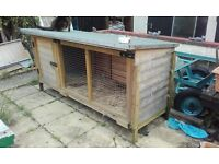 extra large rabbit hutch