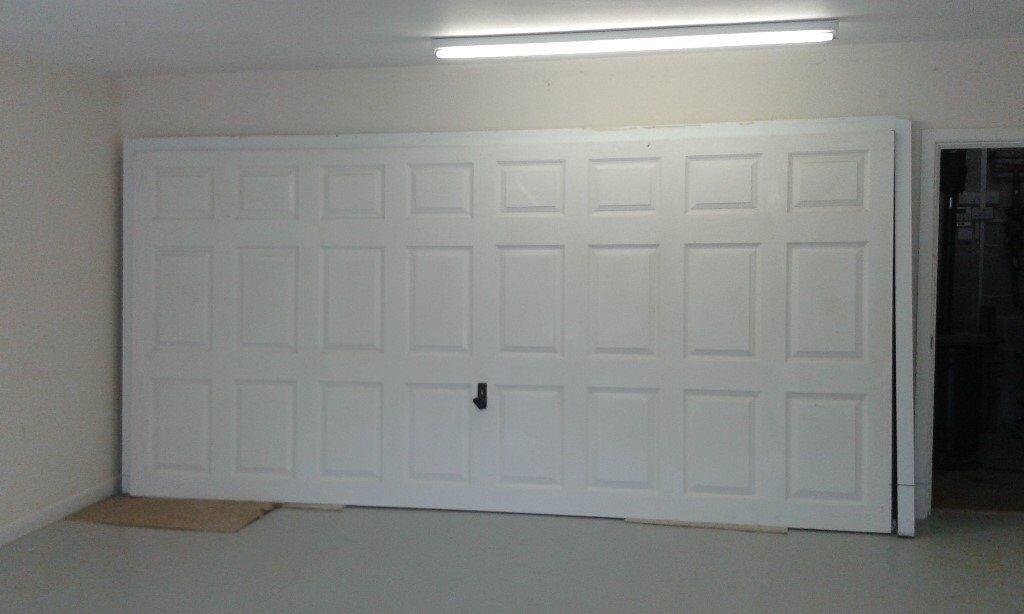Garador 14ft Fiberglass Double Garage Door Up And Over With All