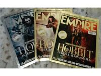 EMPIRE Magazine Issue Dec 2013 The Hobbit Collector's Set covers