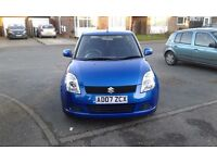 Suzuki swift 43000 miles with service history,only two owners from new.