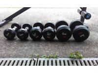 Bench Press and dumbbells