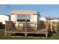 6 berth 3 bed caravan,ingoldmells,skegness,DOG FRIENDLY,sat -sat 21-28th july £300!!reduced