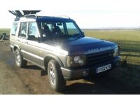 Landrover Discovery GS TD5 seven seater 2002