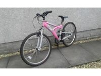 Bicycle in pink