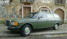 Mercedes w123 Turing