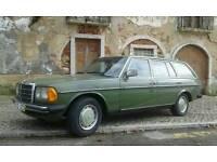 Mercedes w123 Turing