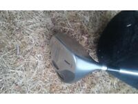 WILSON OVERSIZE tour 1200 DRIVER/1 WOOD AND 5 WOOD WITH COVERS