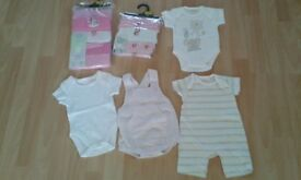 Early Baby Girls Clothes Bundle 3.4kg/7.5lb