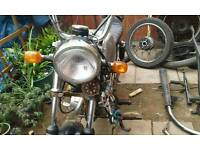 3 classic honda cg projects for sale or swop for a mxbike