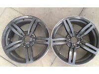 Bmw m5 m6 alloy wheels e90 335 . 330. 320