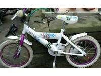 Girls 16inch bike