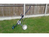 Golf trolley -- Titleist Turfglider Quality built