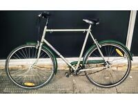 City bike. Bought recently and in good condition. Medium frame. Unisex.