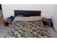 Double bed with big storage. 100£