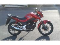 2017 HONDA GLR/CBF 125 PRICED TO SELL QUICK. RIDE AWAY BARGAIN
