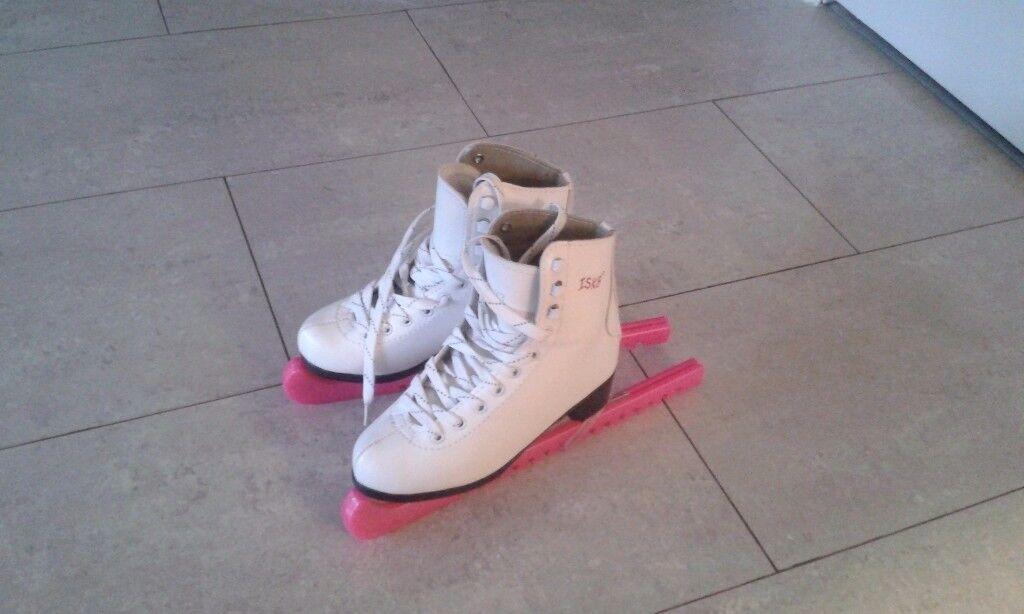 ISK8 girls Ice skates - white