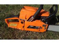chainsaw clean cuts great petrol