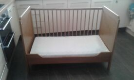 Mothercare cot in great condition used at grand parents only