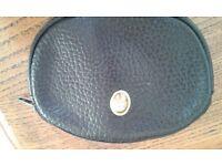 Genuine Christian Dior vintage coin purse in black