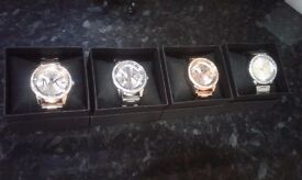 Rose Gold Designer Style Watches
