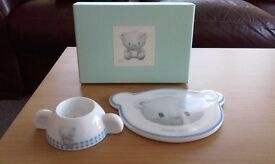 """Baby """"Tipi"""" Egg Cup and Plate Set"""