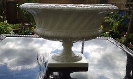 Two large Vintage Italian urns in VGC - ideal for floral decorations etc