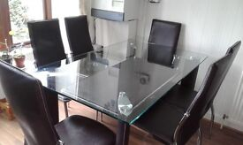 Excellent Condition - Dining Table with 6 Chairs.