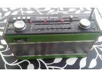 Roberts 1982 FM/LW/MW Vintage radio R800 (37 years old)